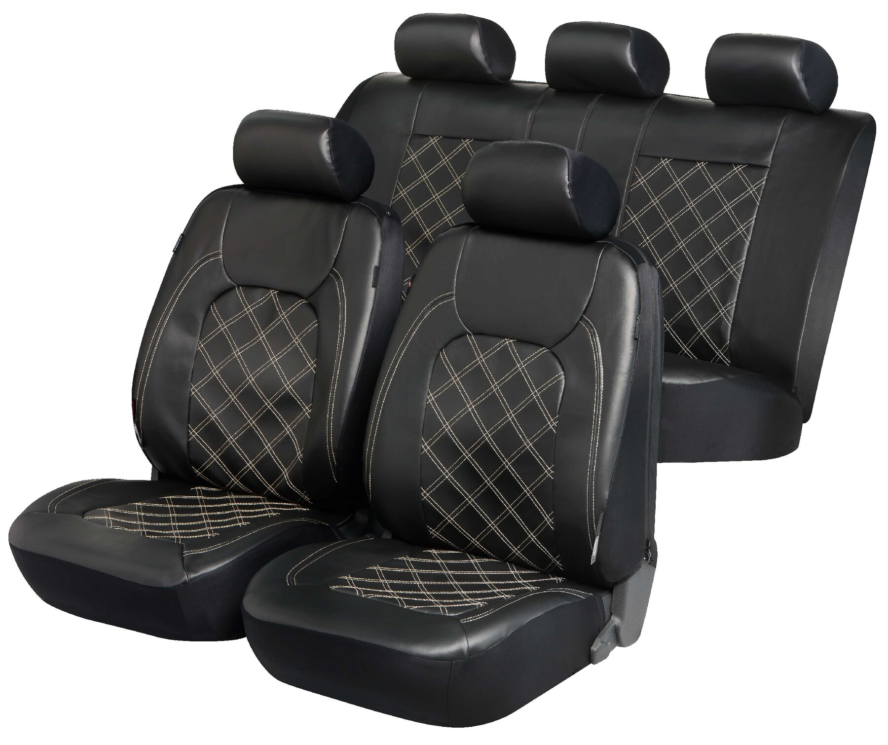 zipp it deluxe paddington auto sitzbez ge aus kunstleder mit reissverschluss system kunstleder. Black Bedroom Furniture Sets. Home Design Ideas