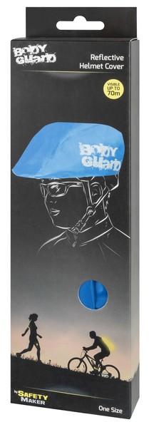 Helmüberzug blau